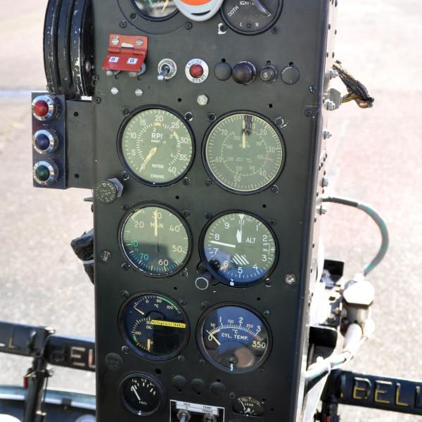 Tableau de bord Bell 47